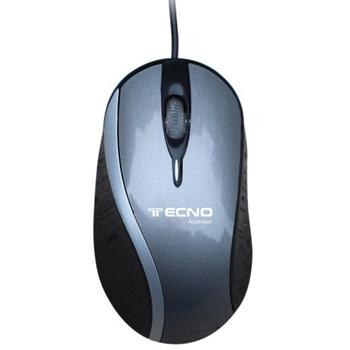 Tecno TC 40 mouse USB tipo A 1200 DPI Mancino
