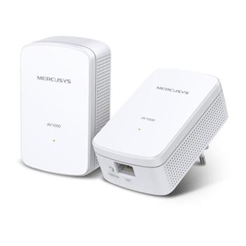 TP-LINK MP500 KIT adattatore di rete PowerLine 1000 Mbit/s Collegamento ethernet LAN Bianco 1 pz
