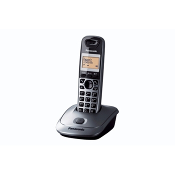 Panasonic KX-TG2511JTT telefono Telefono DECT Titanio Identificatore di chiamata