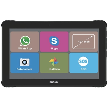 "Brondi 10277060 tablet 3G 8 GB 25,6 cm (10.1"") Spreadtrum 1 GB Wi-Fi 4 (802.11n) Nero"