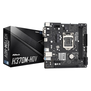 Asrock H370M-HDV scheda madre Intel® H370 LGA 1151 (Presa H4) ATX