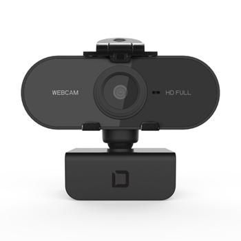 Dicota D31841 webcam 1920 x 1080 Pixel USB 2.0 Nero