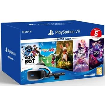 Sony PS VR – Mega Pack v3 Occhiali immersivi FPV 610 g Nero, Bianco