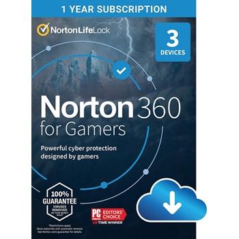 NORTON 360 GAMERS 50GB 1U 3DEV ATT