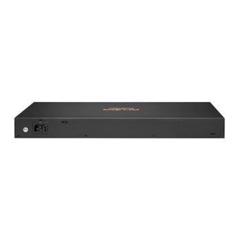 Hewlett Packard Enterprise Aruba 6100 24G 4SFP+ Gestito L3 Gigabit Ethernet (10/100/1000) 1U Nero