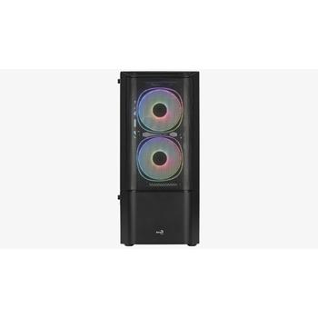 AEROCOOL PGS QUANTUM Mesh-G-BK-v2 FRGB - PC case
