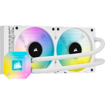 CORSAIR iCUE H100i ELITE CAPELLIX WHITE 240mm Radiator Liquid CPU Cooler