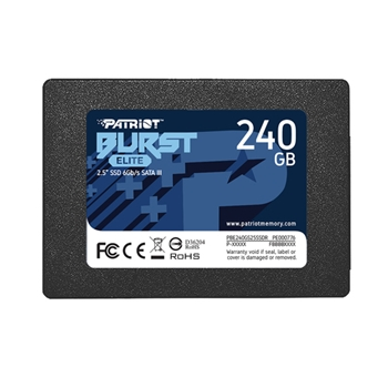 PATRIOT Burst Elite 240GB SATA 3 2.5Inch SSD