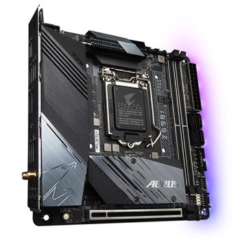 Gigabyte Z590I AORUS ULTRA scheda madre Intel Z590 Express LGA 1200 mini ITX