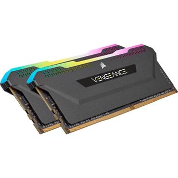 CORSAIR DDR4 32GB 2x16GB 3200MHz DIMM CL16 VENGEANCE RGB Pro SL Black 1.35V for AMD Ryzen XMP 2.0