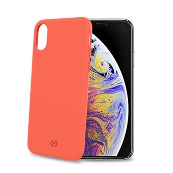 """Celly Shock custodia per cellulare 16,5 cm (6.5"""") Cover Arancione"""