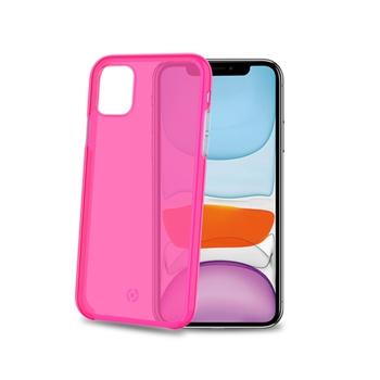 """Celly Neon custodia per cellulare 14,7 cm (5.8"""") Cover Rosa"""