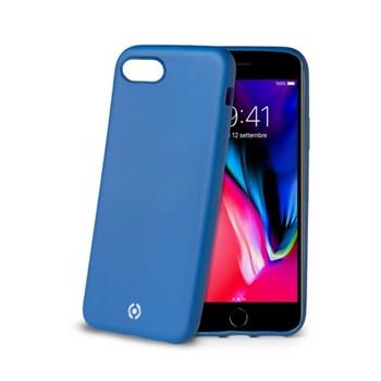 """Celly SOFTMATT800BL custodia per cellulare 11,9 cm (4.7"""") Cover Blu"""