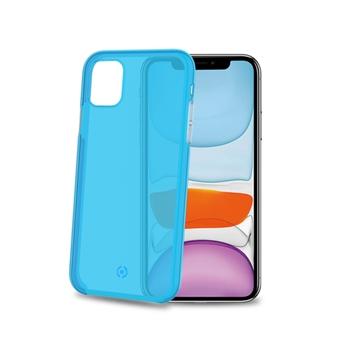 """Celly Neon custodia per cellulare 14,7 cm (5.8"""") Cover Blu"""