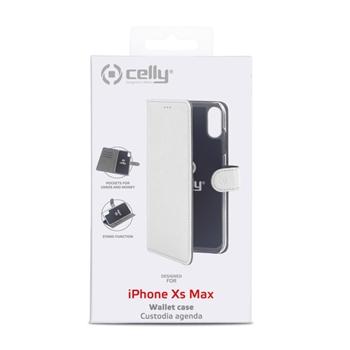 """Celly Wally custodia per cellulare 16,5 cm (6.5"""") Custodia a borsellino Bianco"""