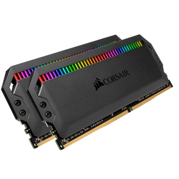 CORSAIR Dominator Platinum DDR4 16GB 2x8GB 3600MHz DIMM CL18 RGB 1.35V XMP 2.0