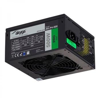 AKY AK-P4-500 Pro Semi-Modular ATX Power Supply 500W Fan12cm P8 5xSATA 2xPCI-E