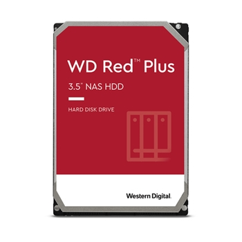 WD 3TB RED PLUS 128MB CMR 3.5IN SATA 6GB/S INTELLIPOWERRPM