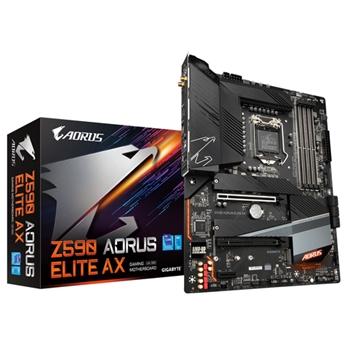 GIGABYTE Z590 AORUS ELITE AX LGA1200 DDR4 6xSATA 2xM.2 WiFi ATX MB