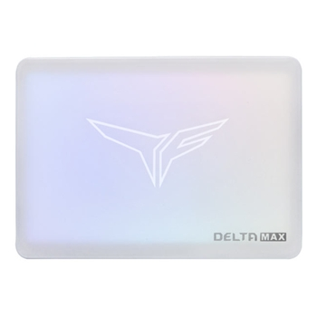 TEAM GROUP T-Force Delta Max RGB SSD 500GB 2.5inch SATA3 560/510 MB/s White