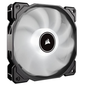 CORSAIR AF140 LED High Airflow Fan 140mm low noise single pack white
