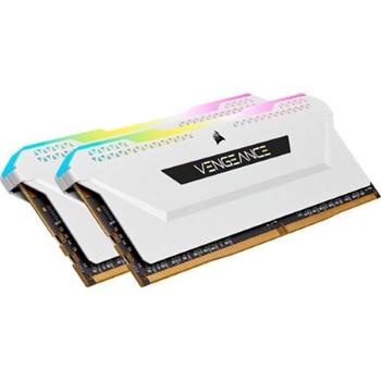 CORSAIR DDR4 32GB 2x16GB 3600MHz DIMM CL18 VENGEANCE RGB PRO SL White 1.35V XMP 2.0