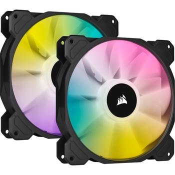Corsair SP140 RGB ELITE Case per computer Ventilatore 14 cm Nero 2 pezzo(i)