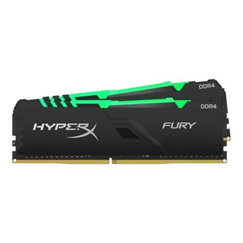 KINGSTON 16GB 2666MHz DDR4 CL16 DIMM Kit of 2 1Rx8 HyperX FURY RGB