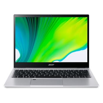 "Acer Spin 3 SP313-51N-38R5 LPDDR4x-SDRAM Ibrido (2 in 1) 33,8 cm (13.3"") 2560 x 1600 Pixel Touch screen Intel® Core™ i5 di undicesima generazione 8 GB 512 GB SSD Wi-Fi 6 (802.11ax) Windows 10 Home Argento"