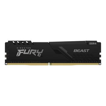 KINGSTON 16GB DDR4-2666MHZ CL16 DIMM 1GX8 FURY BEAST BLACK