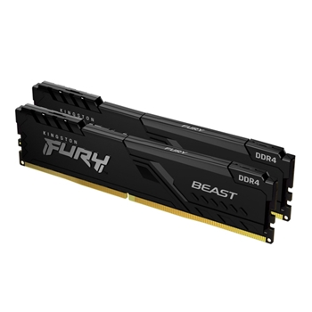 KINGSTON 16GB 2666MHz DDR4 CL16 DIMM Kit of 2 FURY Beast Black