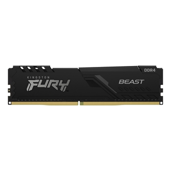 KINGSTON 8GB DDR4-2666MHZ CL16 DIMM FURY BEAST BLACK
