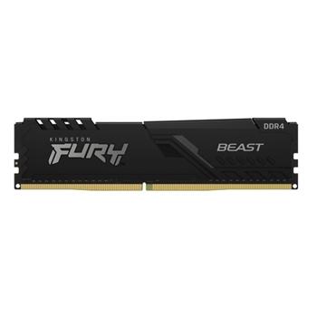 KINGSTON 8GB 2666MHz DDR4 CL16 DIMM Kit of 2 FURY Beast Black