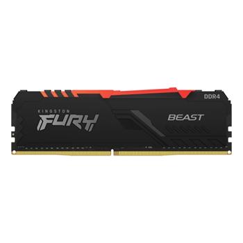 Kingston Technology FURY Beast RGB memoria 8 GB 1 x 8 GB DDR4 3600 MHz
