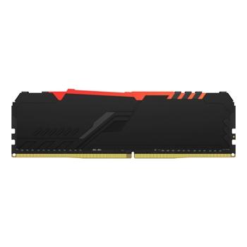 Kingston Technology FURY Beast RGB memoria 8 GB 1 x 8 GB DDR4 3000 MHz