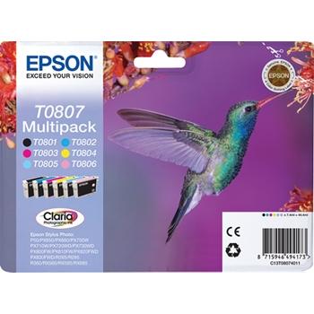 EPSON MULTIPACK (T080) 6 COLORI BLISTER
