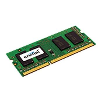 Crucial 4GB memoria 1 x 4 GB DDR3 1600 MHz
