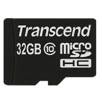 TRANSCEND 32GB MICRO SDHC(1ADAPTER)