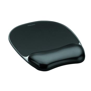 Fellowes 9112101 tappetino per mouse Nero