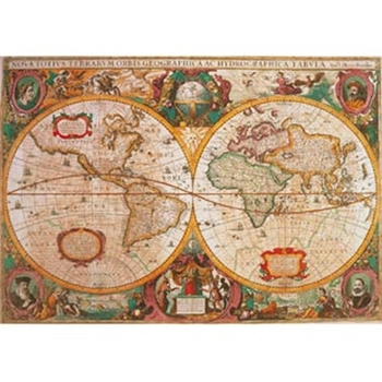 Clementoni Mapa Antigua 1000 pezzo(i)