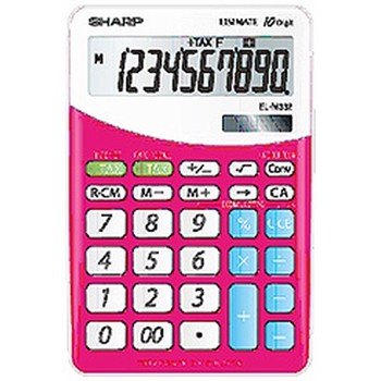Sharp EL-332B-PK calcolatrice