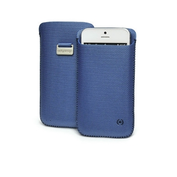 Celly CCORXL02 custodia per cellulare Cover Blu