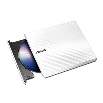 ASUS SDRW-08D2S-U LITE/WHT/G/AS External DRW Asus SDRW-08D2S-U, USB, Encryption, White, Retail