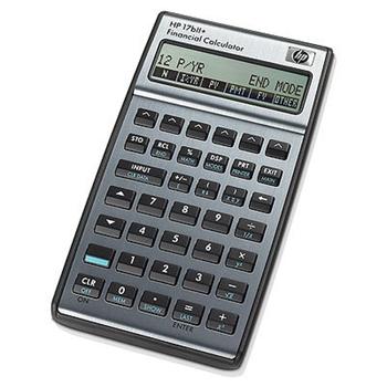 HP 17bII+ calcolatrice Tasca Calcolatrice finanziaria Argento