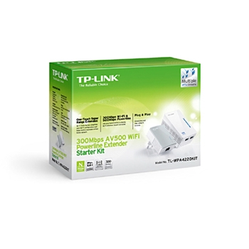 TP-Link Powerline Ethernet Adapter 350Mbps TL-WPA4220Kit