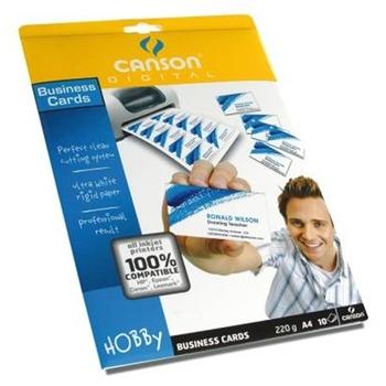 CANSON CF10FF BIGLIETTI VISITA A4 220G