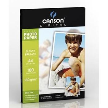 Canson 200004318 carta fotografica Lucida A4