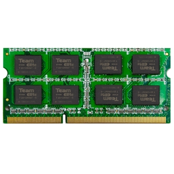 MEMORIA RAM SODDR3 4096MB 4GB DDR-III PC-1600 TEAM ELITE RETAIL