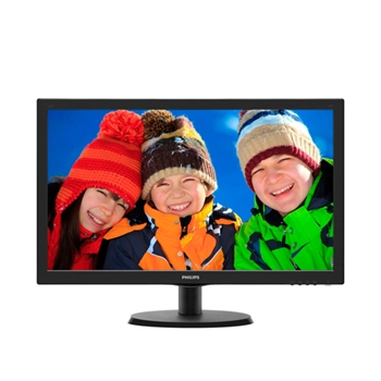 Monitor Philips 223V5LSB2/10 21.5inch FHD,SmartControl Lite, Black