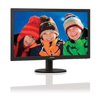 Monitor Philips 223V5LSB 21.5inch FHD, DVI, 250 cd/m2, 170/160